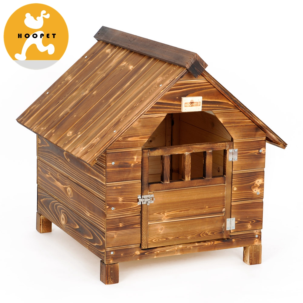 Large Outdoor Indoor Insultated Flat Pack Wooden Dog House For Sale