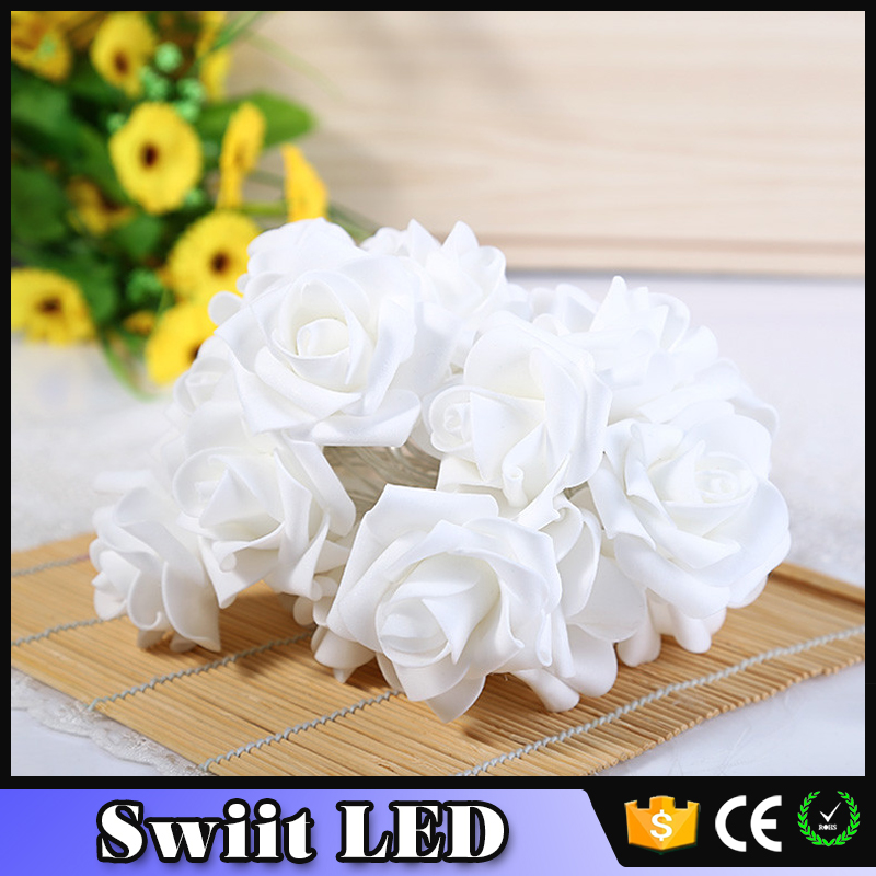 2016 NO.1 Hot-Sale SW180 led calla flower light with pot
