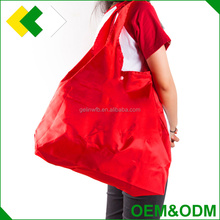 OEM & ODM new fashion Canvas / Cotton / nylon tote polyester bag durable recycled foldable polyester shopping bag