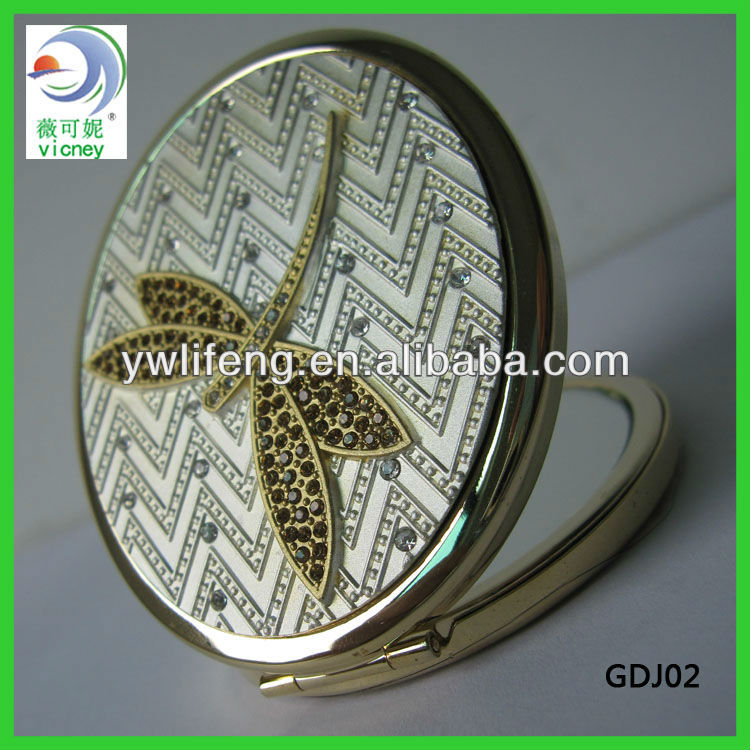 High level crafts dragonfly folding compact mirror (GDJ02)