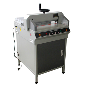 our company want distributor 450 paper cutter paper cutter guillotine hydraulic paper corner cut machine for book cover
