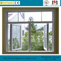 Size Customized frosted glass metal guard window