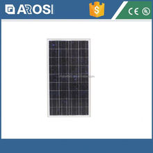 Full power 130w solar panel komatsu control panel