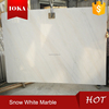 China Natural snow white marble stone marble