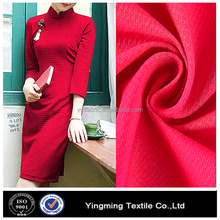 Nylon rayon stretch bengaline fabric for garments