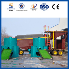 SINOLINKING China Small Scale Gold Washing Machine,Mobile Mini Trommel Gold Washing Plant