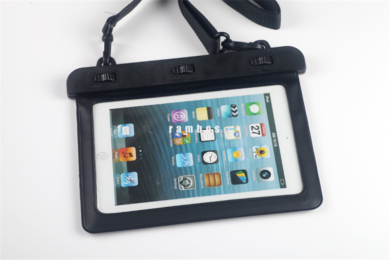 PVC Waterproof Bag Underwater Transparent waterproof Tablet Bag Dry Pouch Case for Kindle fire HDX