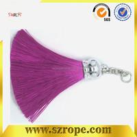 Wonderful polyester decorative tassel for home textile,Perfume bottle decorative tassel