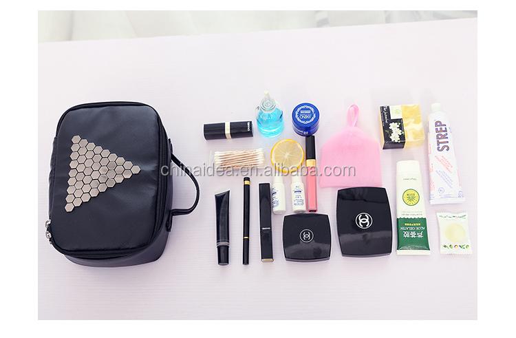 High-capacity portable cosmetic bag travel female wash gargle bag with waterproof cosmetics bag