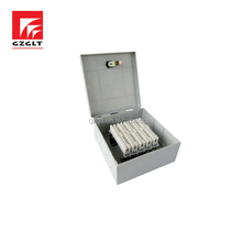 50 pair Telecom Wall mounted Cable Distribution Box For Communication telephone connection