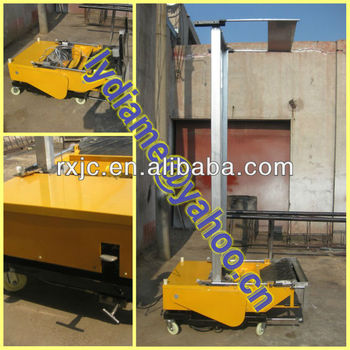 Auto rendering machine/Plastering machine for wall/Cement spray plaster machine