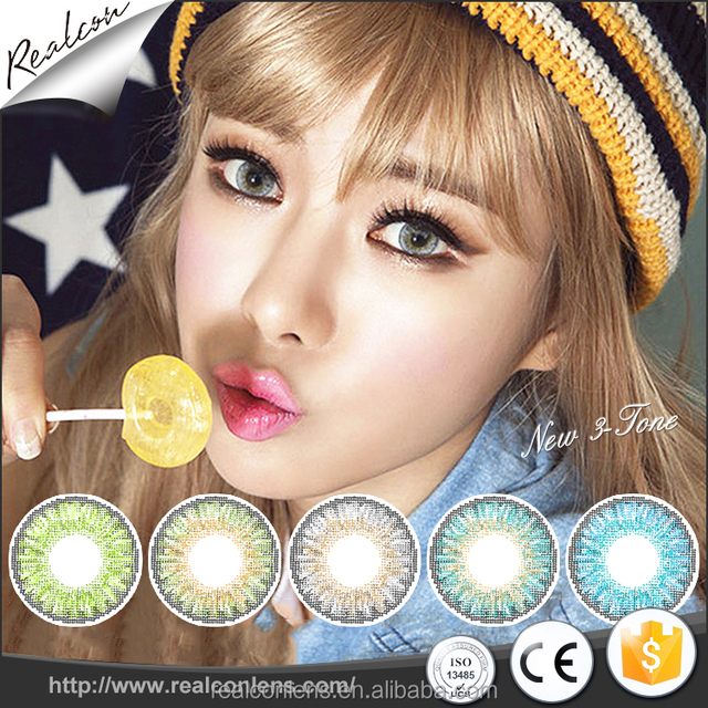 Wholesale cheap FC-28 cosmetic color contact lens charming contact lenses for eyes