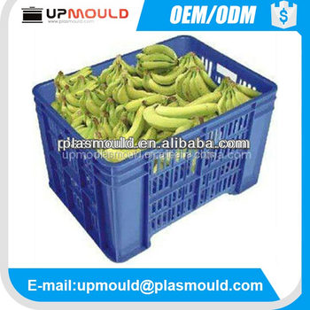 professional & good quality plastic fruit/vegetal crate mould injection mold
