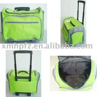 Trendy 600D trolley cooler bag for wine