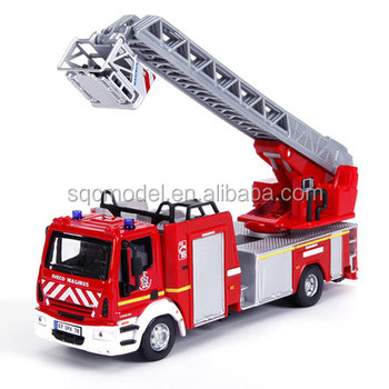 Low price of 1 50 Fire engines model car with Long Service Life