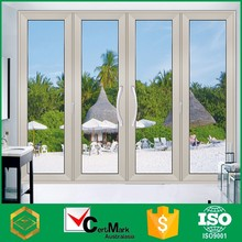 Insulated Glass White Aluminum For Fold Door Factory