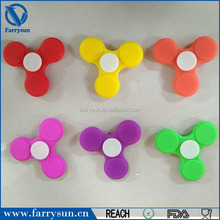 Chinese supplier Cheap Finger Toy for time killer silicone hand spinner gyro hand finger spinner