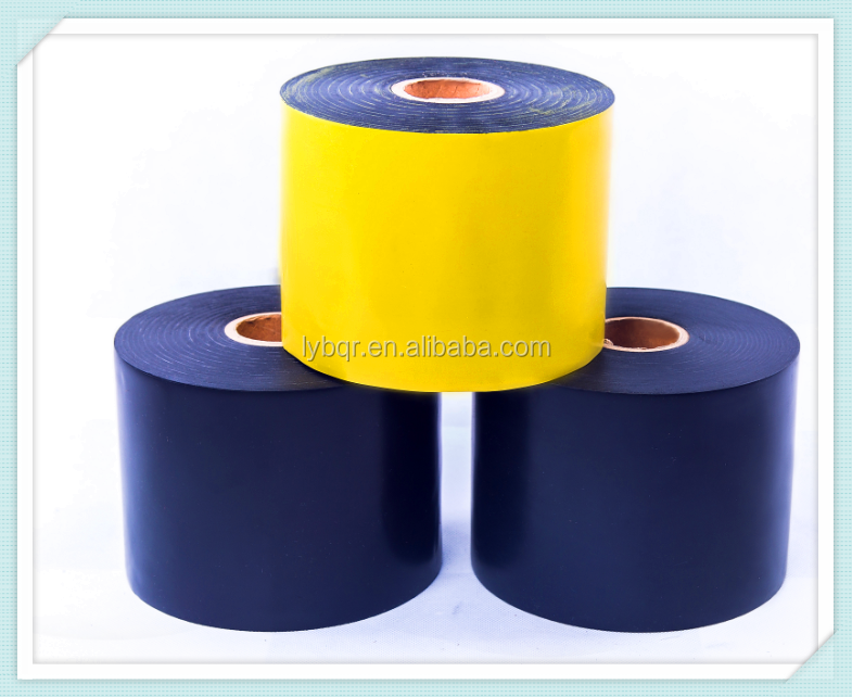 cold applied anti-corrosion tape for wrapping oil, gas, water underground pipe