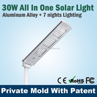 High Power Solar Gate Light With Pir Sensor