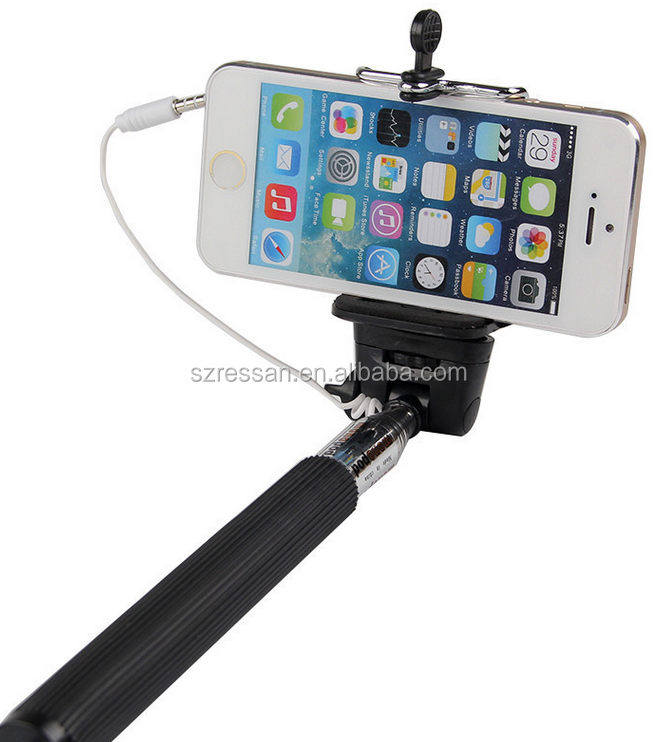 2016 new products self- timer pole for mobile phone,self-timer pole, selfie stick for mobile phone