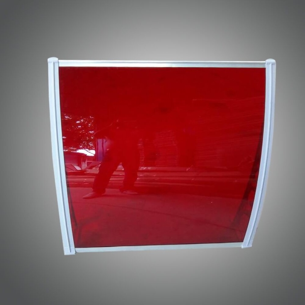 solid polycarbonate roof sheet plastic awning sheet