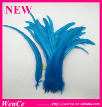 Dyed rooster tail feather for crafting decoration wedding fly tying costume