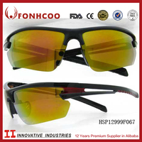 FONHCOO Brand Men Profession Cycling Sports Sunglasses With Yellow Lens