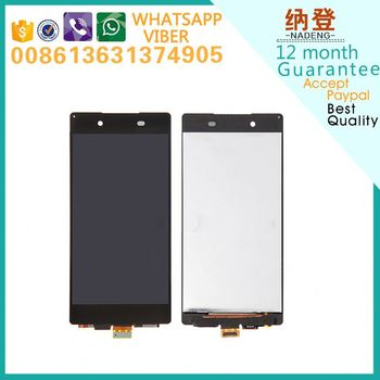 wholesale low price for Sony xperia Z3 plus compact lcd + touch screen assembly fast delivery in alibaba