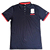 WHOLESALE IN STOCK ROUND NECK WITH COLLAR KNITTED POLO SHIRT FOR MEN