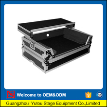 China gold manufacturer high grade dj workstation pro flight case