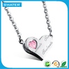 Top Selling Products In Alibaba Rose Crystal Heart Necklace