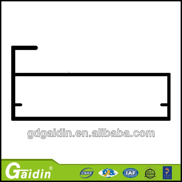 Perfil fabricante del marco de PVC de aluminio a medida para cocina ...