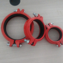 Good Quality Fitting Ductile Iron Pipe / Nipple Elbow Tee Cap Reducer Flange