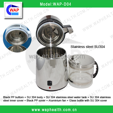 WAP-health automatic stainless steel water distiller