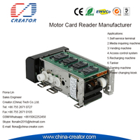 Europe RS232 Driver IC/RFID Motorized Card Reader & Writer