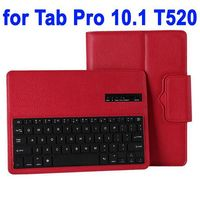 Detachable Flip Stand Leather Bluetooth Keyboard Case for Samsung Galaxy Tab Pro 10.1 T520