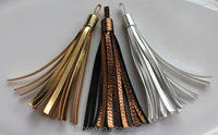 Wholesale Leather Tassel - Color: Gold,Copper,Silver made in China