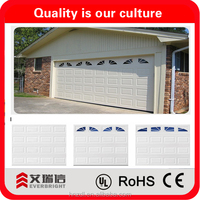 waterproof sectional garage door and cheap garage doors and 220V and 110V openers