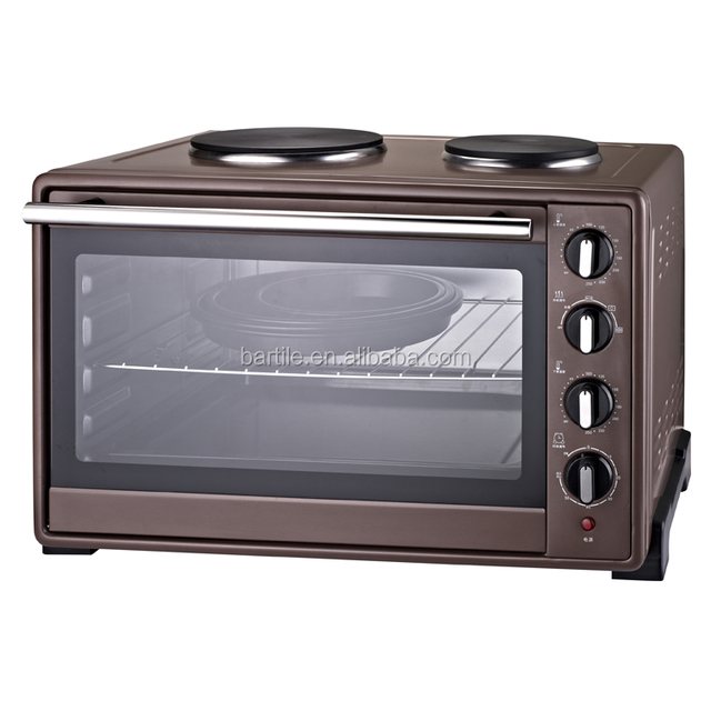 electric powerful Toaster Oven with hot plate for home using