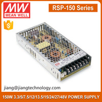 Meanwell 150W SMPS RSP-150-24 220V AC 24V DC Switching Power Supply