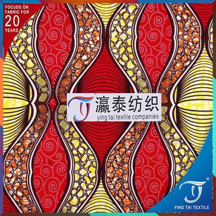 Factory price direct custom latest design super chiganvy wax printed fabric