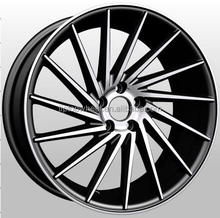 77161 aftermarket wheel design good quality 18x8.0 18x9.0 5x100-120 fit for car aluminium hot sale well dubai alloy wheels