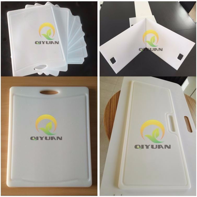 The corrosion customized uhmw chopping board pe 1000 sheet plastic cutting board
