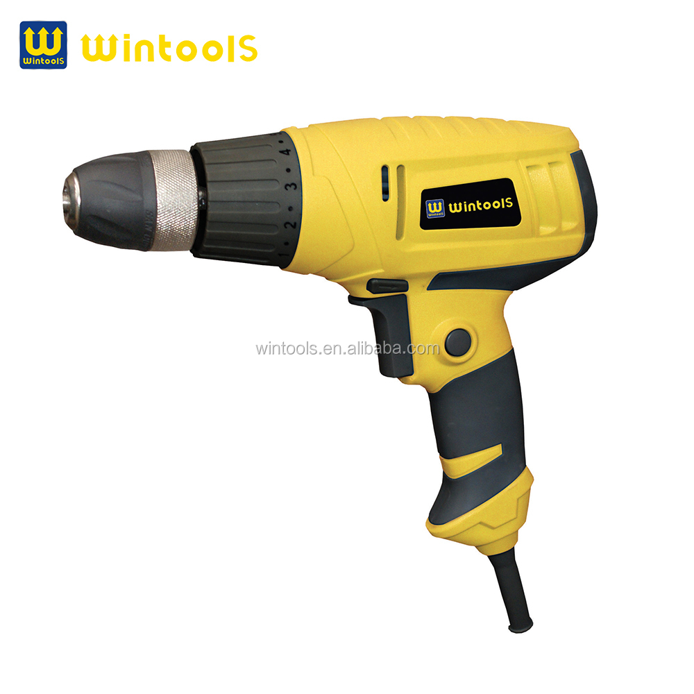 High quality low speed 280w 10mm woodworking electric drill