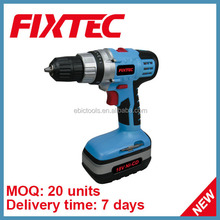 FIXTEC China Power Max Tool Mini 10mm 18V NI-CD Cordless Drill