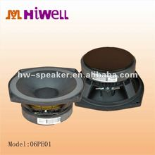 8 Ohm midrange amplifier speaker+line arrary system woofer