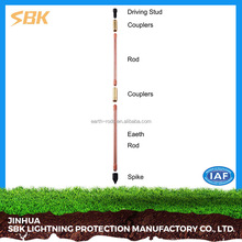 Earthing And Lightning Protection System Copper Earth Rod