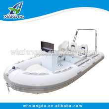 Made in China aluminum rib used pedal boats for sale