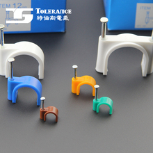 Plastic hook cable clip,electrical cable clamp