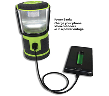 Multi-Function Private Label IPX6 Portable Outdoor LED Camping Lantern